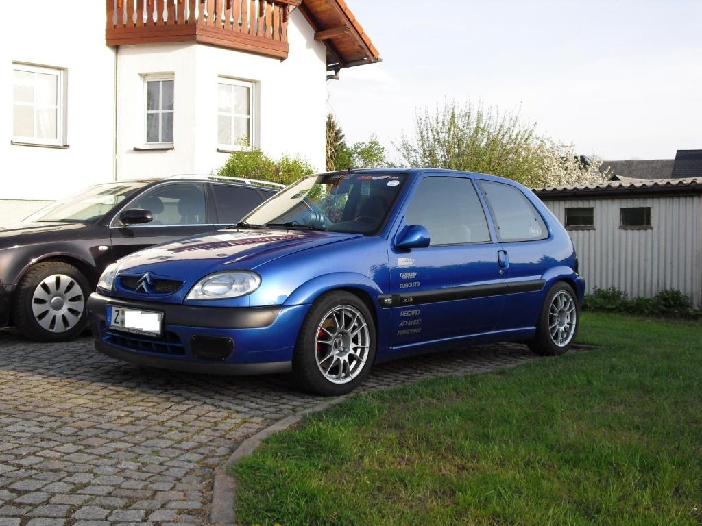 Seb's Citroen Saxo VTS - Stand 2009