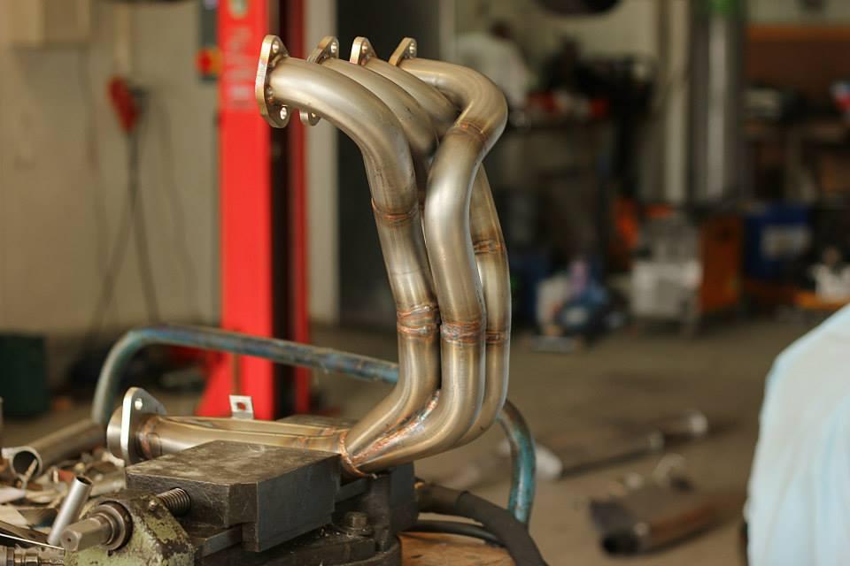SRT race exhaust manifold TU 8v