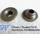 SRT - Aluminiumventilfederteller für Citroen/Peugeot TU-8v Motoren