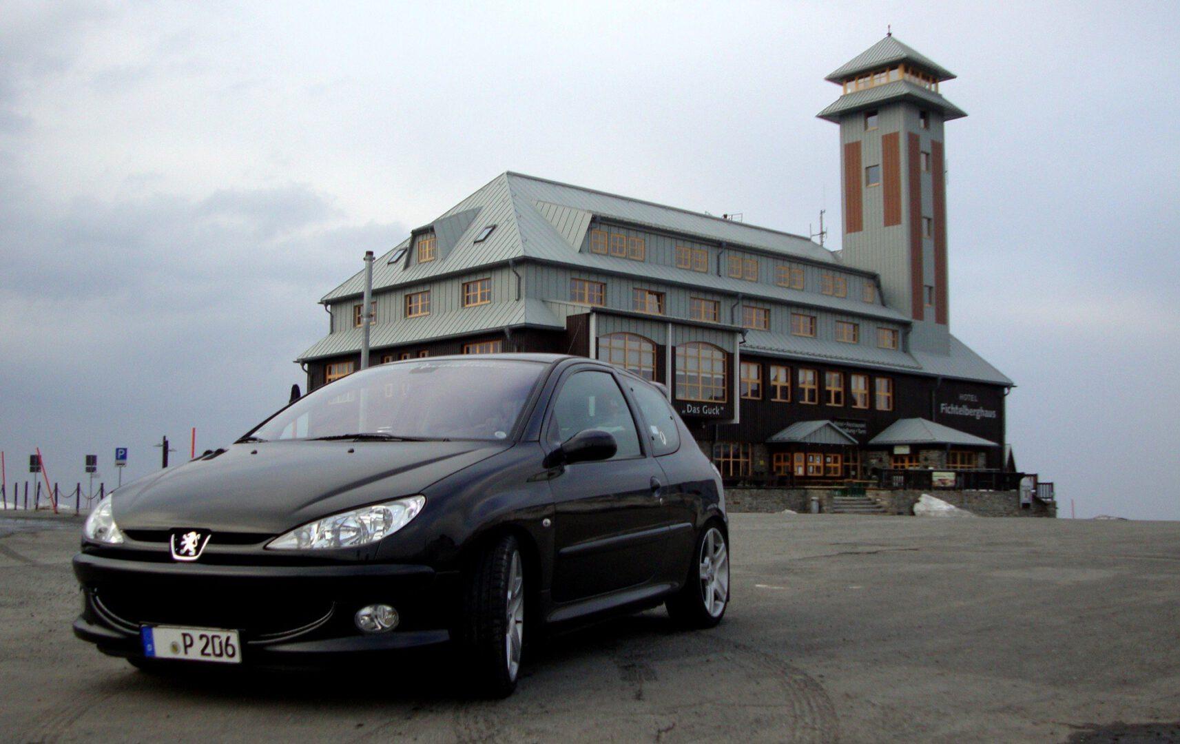 Flo's Peugeot 206 RC 2,0 16v - Black Beauty