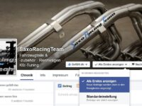 SaxoRacingTeam Facebook-Seite