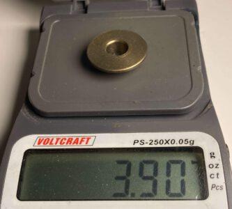 Gewicht - SRT - Aluminium-Ventilfederteller TU5J4