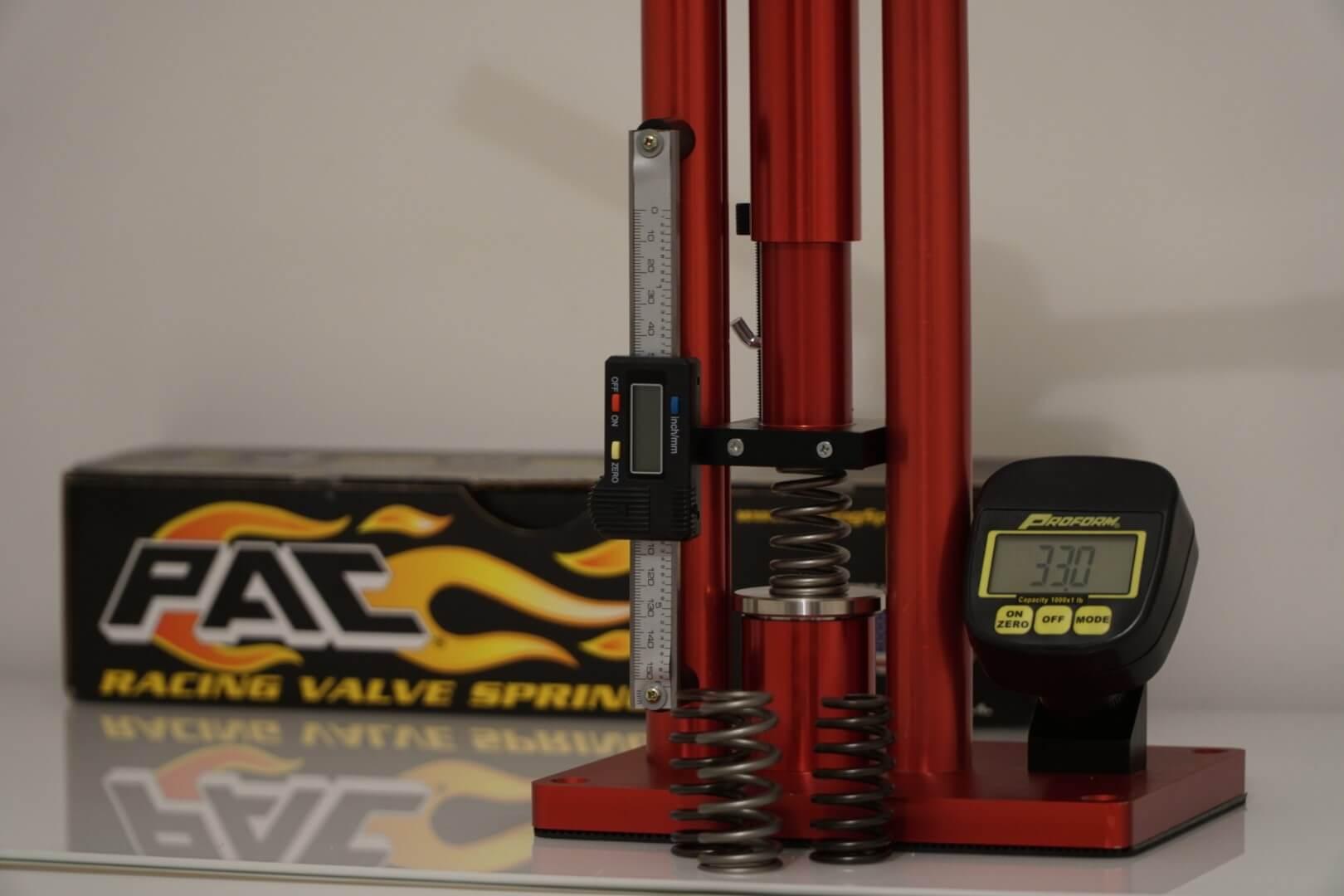 valve spring measurements